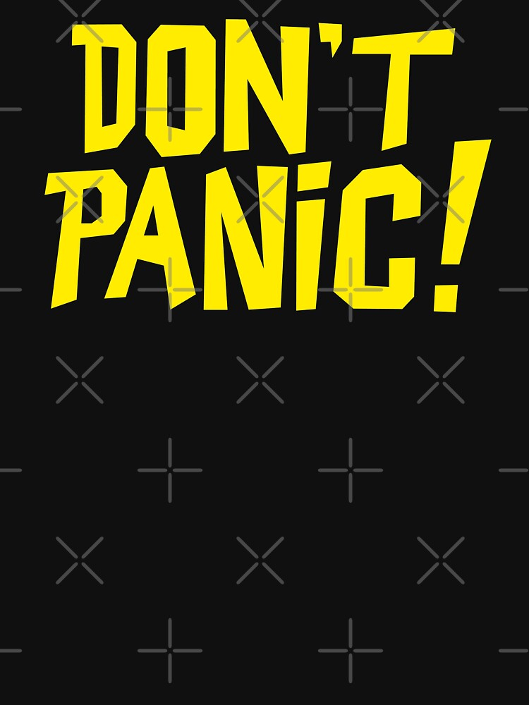 NDVH Don't Panic - Yellow 1 by nikhorne