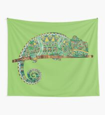 CHAMELEON - Adult Colouring   COLOURING - ARTWORKS Wall Tapestry