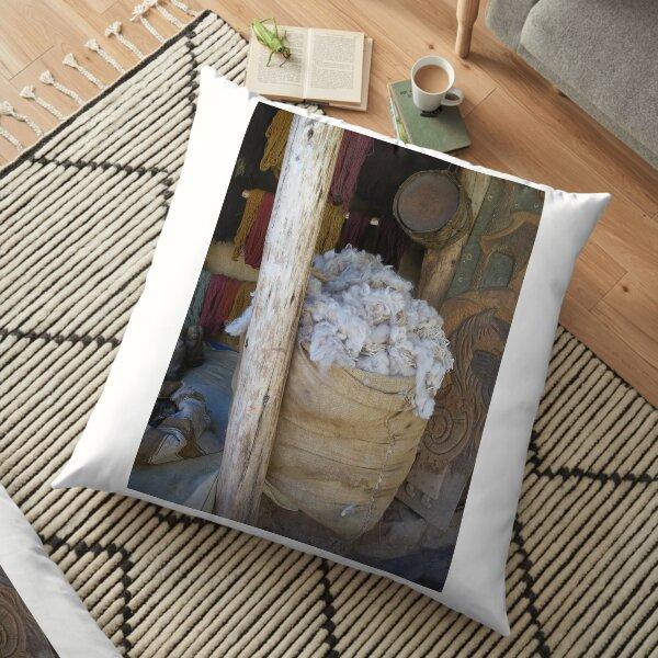 Bag of Wool Floor Pillow