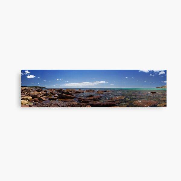 Stokes bay, Kangaroo Island. Canvas Print