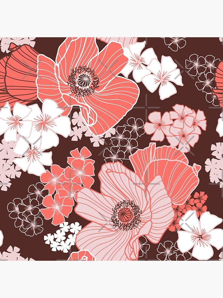 Coral Poppies by nadyanadya