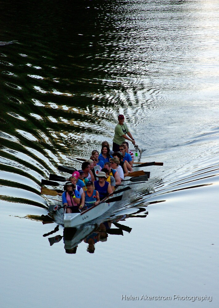 ORANA DRAGON BOAT by Helen Akerstrom Photography
