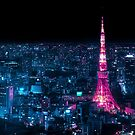 Neo Tokyo Tower by Guillaume Marcotte