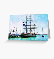 Stad Amsterdam Greeting Card