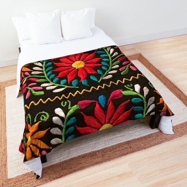 Spanish Flowers Comforter