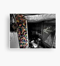 Death to abandoned #3 Canvas Print
