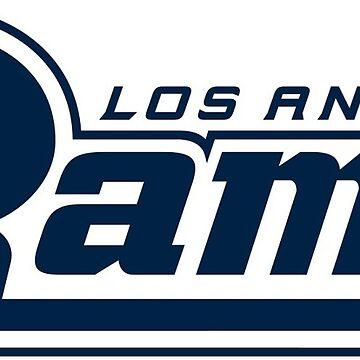 Rams - LA by Connorlikepie