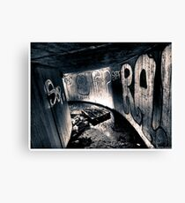 Death to abandoned #5 Canvas Print