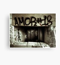 Death to abandoned #7 Canvas Print