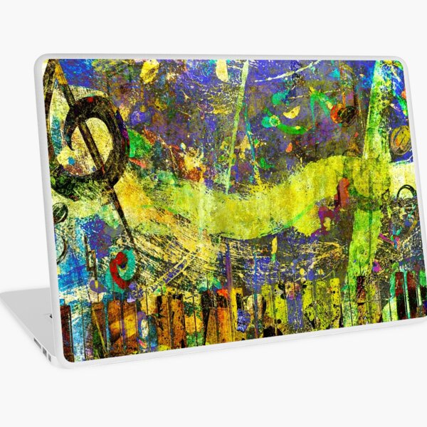 Crazy Jazz Laptop Skin