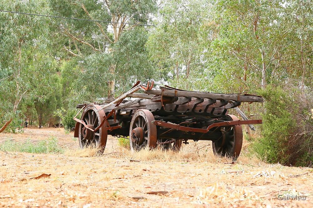 Cudlee Creek Wagon by Gail Mew
