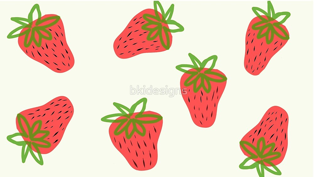 Strawberry pattern by bkidesigns