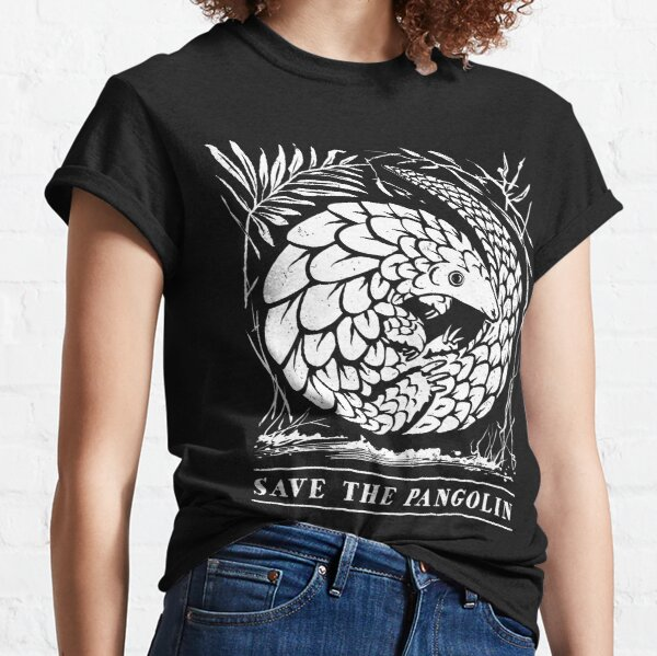 Endangered Wildlife - Save The Pangolin Classic T-Shirt
