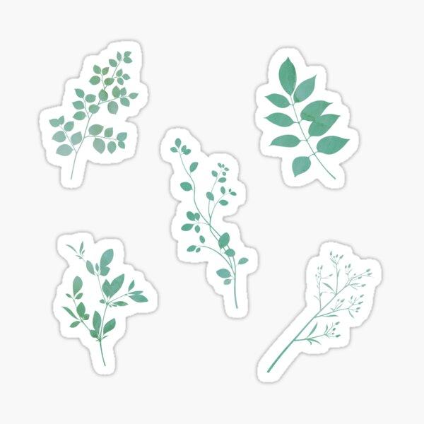 Plants Sticker Multipack (5pcs) Sticker