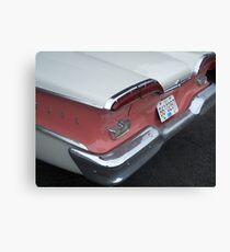 Edsel Backend Canvas Print