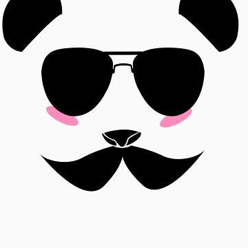 Panda in disguise  by leprosa