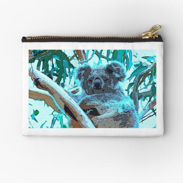 Sleepyhead koala Zipper Pouch