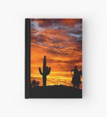 Wild Wild West Hardcover Journal