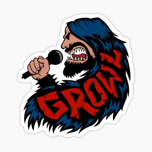 Growl! Sticker