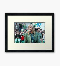 Bo Derek at the St Pat's Parade 2 Framed Print