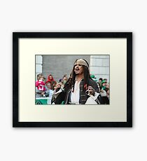 2010 St Pat's Parade Pirate Framed Print