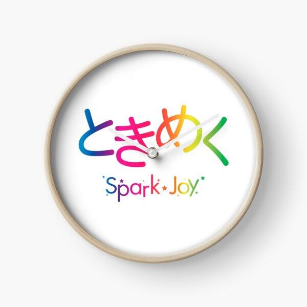 Tokimeku (Spark of Joy) - Rainbow Color version Clock