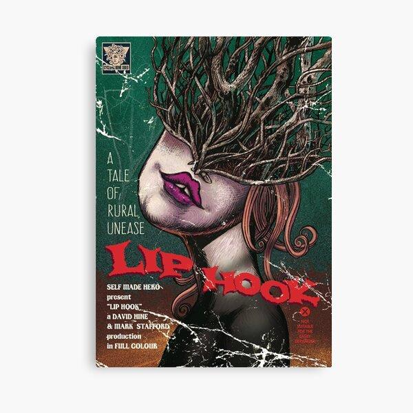 Lip Hook Home Video Canvas Print