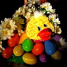 Duck On My Table by Linda Miller Gesualdo