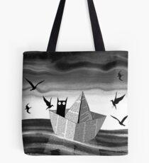 Paper Boat Tote Bag