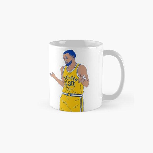 Steph Curry Shrug Shrugging Classic Mug