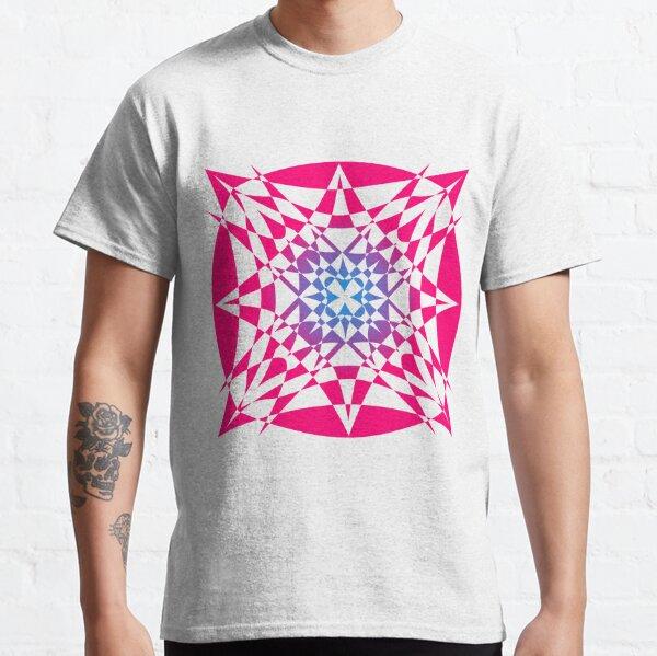 """Birth"" - digital abstract transparent illustration mandala Classic T-Shirt"