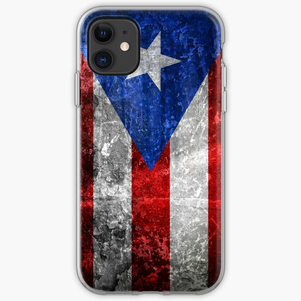 Bandera de Puerto Rico iPhone Case & Cover