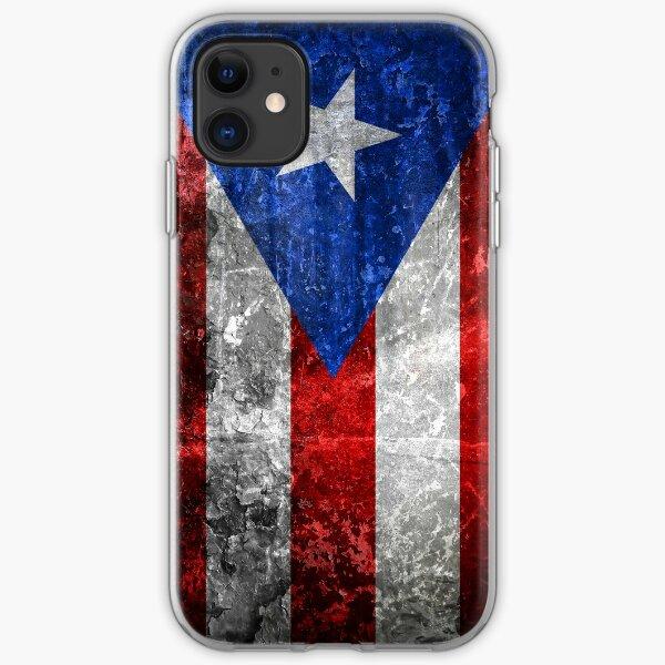 Bandera de Puerto Rico iPhone Soft Case