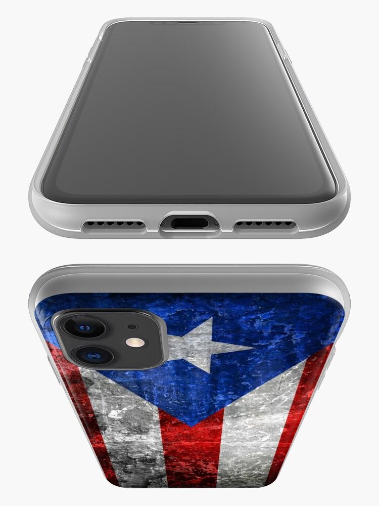 Alternate view of Bandera de Puerto Rico iPhone Case & Cover