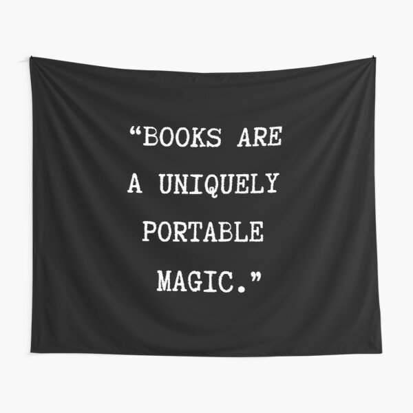 Books are magic Tapestry