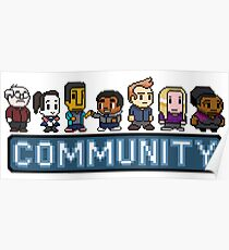 8-Bit-Gemeinschaft Poster