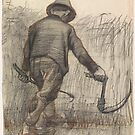 Peasant with Sickle by Vincent van Gogh by stine1