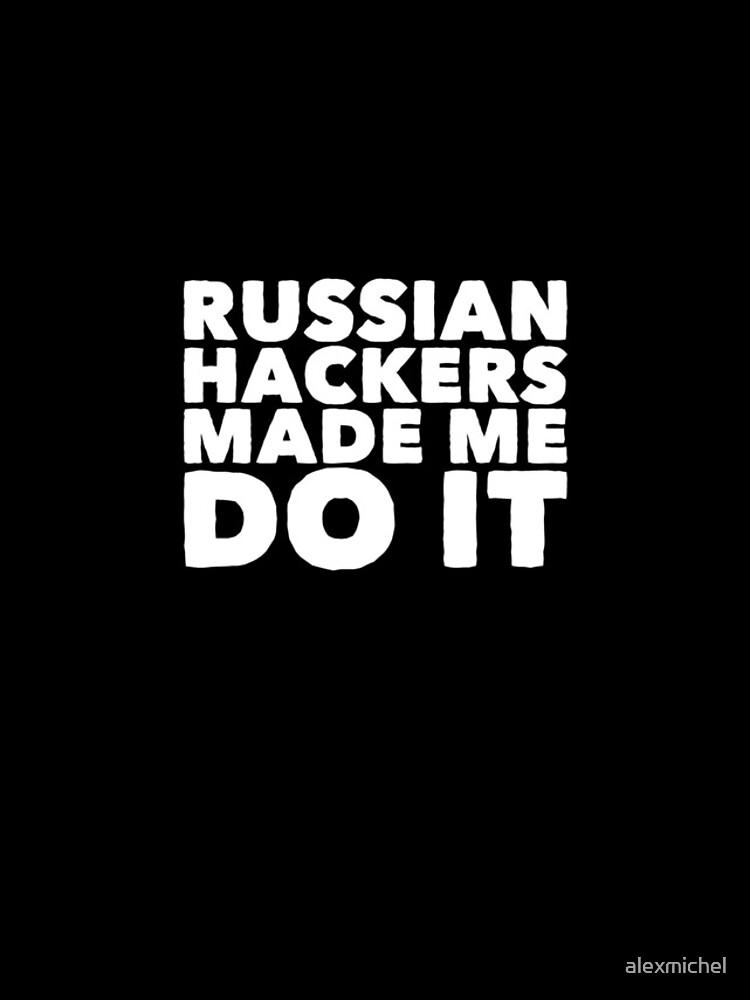 Russische Hacker ließen mich es tun - lustiger Russe von alexmichel