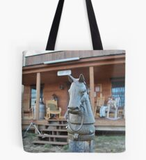 hitch up Tote Bag