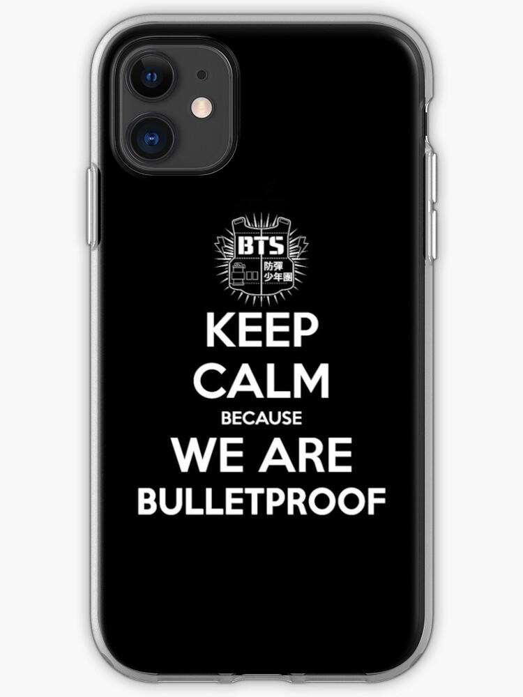 BTS BANGTAN BOYS SONYEONDAN BULLETPROOF BOYS SCOUT 2 iphone case