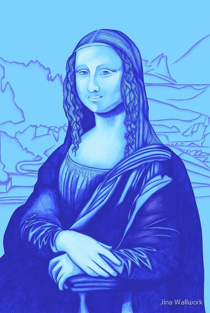Mona Lisa 11 by Jina Wallwork