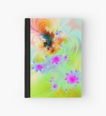 Pink Roses Hardcover Journal