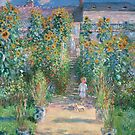 The Artist's Garden at Vétheuil by Claude Monet by stine1