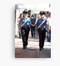 Due Carabinieri Canvas Print