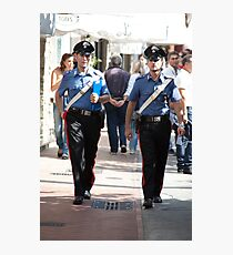 Due Carabinieri Photographic Print