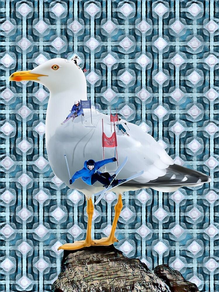 A Flock of Seagulls. by Bo Jones