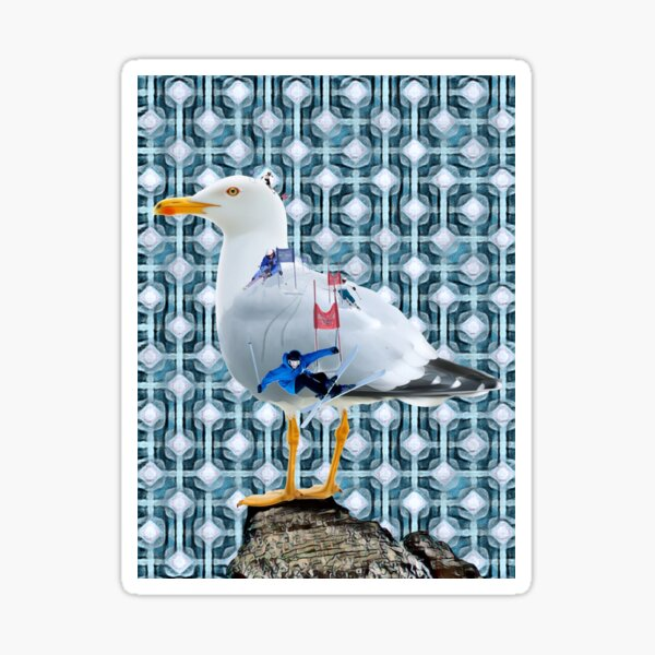A Flock of Seagulls. Sticker