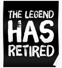 Funny Retirement Posters | Redbubble