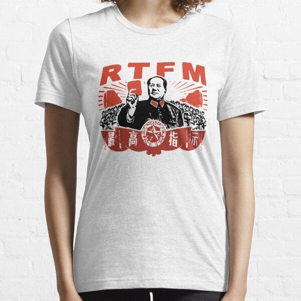 Chairman Mao RTFM Roy Essential T-Shirt