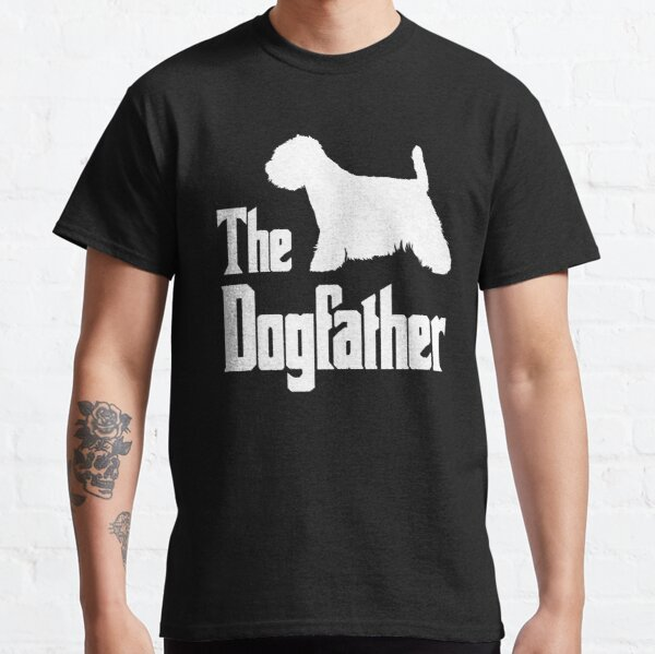 The Dogfather West Highland White Terrier Dog funny gift idea Classic T-Shirt